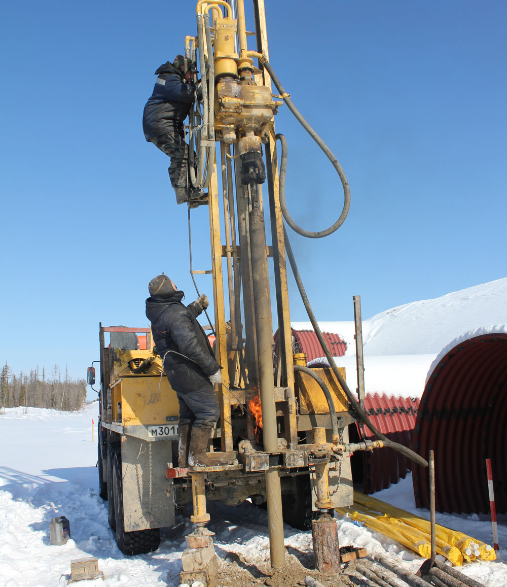 drilling vehicle-2