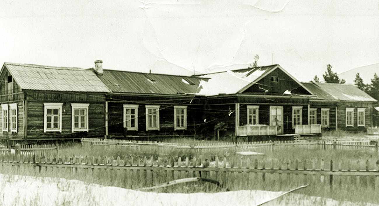 Permafrost research station in Yakutsk, 1949